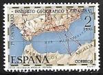 de Europa - España -  Centenario del Instituto Geográfico y Catastral