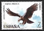 Stamps : Europe : Spain :  Fauna Hispánica - Águila Imperial
