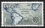 Stamps : Europe : Spain :  V centenario de laImprenta