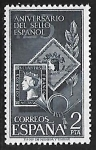 Stamps : Europe : Spain :  Aniversario del sello español