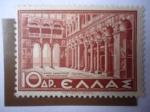 Stamps : Europe : Greece :  Iglesia de San Demetrio-Salónica - Historia de Grecia.