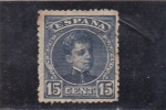 sello : Europa : España : Alfonso XIII- Tipo cadete (34)