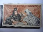 Stamps Europe - France -  África Occidental-Colonias y Territorios Franceses - Ejecutora del Ardín