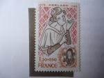 Stamps Europe - France -  Abélard (1079-1142) Pierre Abélard, Filosofo,Poeta y Monje Francés.