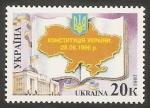Stamps Europe - Ukraine -  276 - Primer anivº de la nueva Constitución