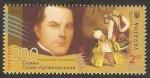 Stamps Europe - Ukraine -  1121 - Bicentenario del nacimiento de Gulak-Artemovckii, Semyon Stepanovich, compositor, cantante de