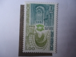 Stamps Europe - France -  Abadía Saint Pierre de Moissac - Abadía Normanda