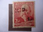 Sellos de Oceania - Australia -  john Forrest (1847-1918)