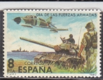 Stamps : Europe : Spain :  Día de las fuerzas armadas (34)