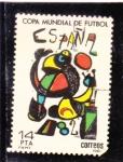 Stamps : Europe : Spain :  Copa Mundial de Futbol (34)