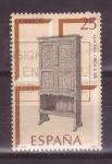 Sellos de Europa - España -  serie artesania española- muebles