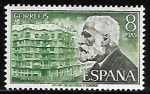 sellos de Europa - España -   Personajes españoles - Antonio Gaudi
