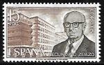 Stamps Spain -  Personajes españoles - Secundino Zuazo