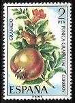 Sellos de Europa - España -  Flora - Granada