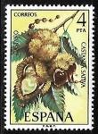 Sellos de America - España -  Flora - Castaño