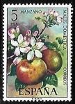 Sellos de Europa - España -  Flora - Manzano
