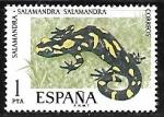 Sellos del Mundo : Europa : España : Fauna Hispánica - Salamandra