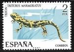 Sellos del Mundo : Europa : España : Fauna Hispánica - Triton