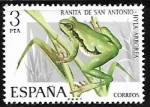 Sellos del Mundo : Europa : España : Fauna Hispánica - Ranita de San Antonio