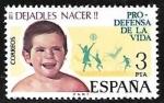 Sellos del Mundo : Europa : España : Pro-defensa de la vida
