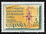 Sellos del Mundo : Europa : España : XIII Congreso Internacional del Notariado Latino