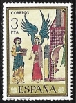 Stamps Europe - Spain -  Códices - Catedral de Gerona