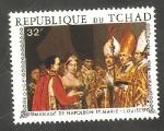 Stamps Africa - Chad -  Pintura de la Boda de Napoleón y María Luisa