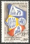 Stamps Africa - Chad -  151 - 20 Anivº de la Organización Mundial de la Salud