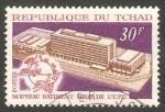Stamps Africa - Chad -  222 - Nuevo edificio del UPU, en Berna