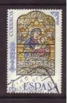 Stamps Spain -  serie vidrieras artisticas