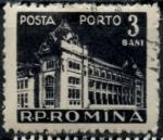 de Europa - Rumania -  RUMANIA_SCOTT J115.02 $0.25
