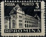 de Europa - Rumania -  RUMANIA_SCOTT J115.03 $0.25