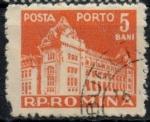Stamps of the world : Romania :  RUMANIA_SCOTT J116.01 $0.25