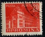 Sellos de Europa - Rumania -  RUMANIA_SCOTT J118.01 $0.25