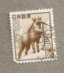 Stamps Asia - Japan -  Cervido