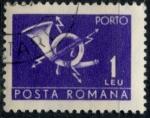 Stamps : Europe : Romania :  RUMANIA_SCOTT J126.11 $0.25