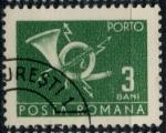 Stamps Romania -  RUMANIA_SCOTT J127.12 $0.25