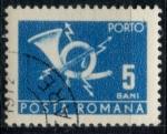 Stamps : Europe : Romania :  RUMANIA_SCOTT J128.11 $0.25