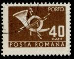Stamps : Europe : Romania :  RUMANIA_SCOTT J131.11 $0.25