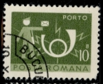 Stamps : Europe : Romania :  RUMANIA_SCOTT J134.12 $0.25