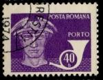 Stamps Romania -  RUMANIA_SCOTT J136.13 $0.25