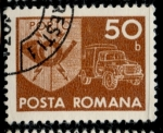 Stamps Romania -  RUMANIA_SCOTT J137.14 $0.25