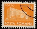 Sellos de Europa - Rumania -  RUMANIA_SCOTT J138.01 $0.25