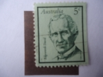 Stamps of the world : Australia :  Edgeworth David (1858-19349) Geólogo