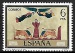 Stamps of the world : Spain :  Códices - Biblioteca Nacional