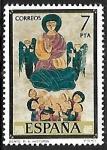 Stamps of the world : Spain :  Códices - Real Academia de la História
