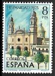 Stamps Spain -    Hispanidad 1975 - La catedral de Montevideo