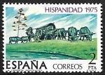 de Europa - España -  Hispanidad 1975 - El Cabildo (Uruguay)