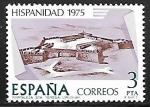 de Europa - España -  Hispanidad 1975 - Fortaleza Sta. Teresa (Uruguay)