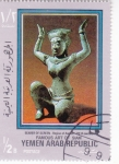 Sellos del Mundo : Asia : Yemen : Arte de Siam